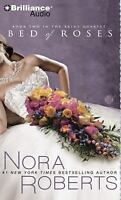 BED OF ROSES bestselling audio CD by NORA ROBERTS * FREE SHIPPING * - Brand New!