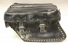 Harley-Davidson Leather Saddlebags with Fringe
