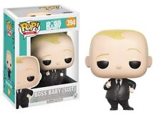 Funko - POP Movies: Boss Baby - Baby (Suit) #394 Vinyl Action Figure New In Box