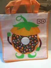 Dunkin Donuts Trick Or Treat Bags Pumpkin Halloween Reusable Bag Tote DD