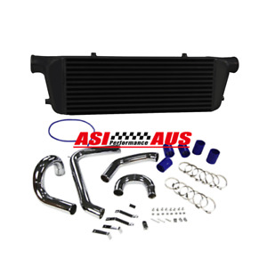 Upgrade Intercooler+pipe kit For Ford Falcon Turbo XR6 BA BF Typhoon F6 FPV G6ET