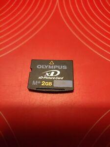 2GB XD card. Olympus XD memory Card