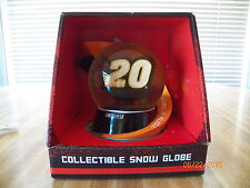 NASCAR Tony Stewart #20 Home Depot Large Collectible Snow Globe Christmas family