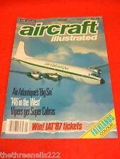 AIRCRAFT ILLUSTRATED - AIR ATLANTIQUE'S BIG SIX - JUNE 1987