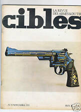CIBLES N°73  ARMES TIR CHASSE / HUNTING ARMS