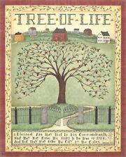 RELIGIOUS ART PRINT Tree of Life Cindy Shamp