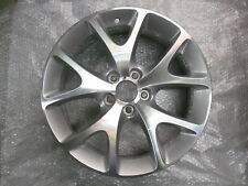 "VAUXHALL CORSA D 18"" VXR ALLOY WHEEL IN SILVER GENUINE"