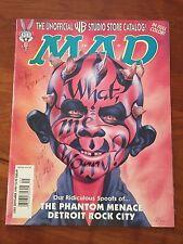 1999 SEPTEMBER #385 MAD MAGAZINE PHANTOM Star Wars Signed by Ed. Meglin/Ficarra