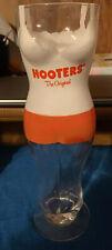 Hooters Waitress Sculpted Tall Beer Glass The Original