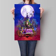 The Legend of Zelda Majora's Mask Poster Game Art 16.6 x 23.4 in (A2)