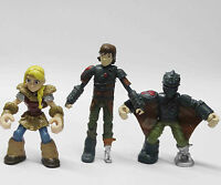 """How to Train Your Dragon Hiccup Astrid Action Figure 2.5"""" loose"""