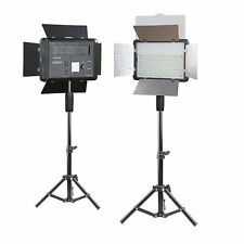 2 x Godox Pro LED 500 Studio Video Continuous Light Kit For Camera DV Camcorder