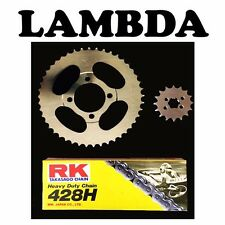 Chain  Sprocket Kit for Pre '99 Honda CT110 Posties - 15T Front - Std - RK- JT
