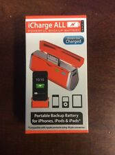 Triple C iCharge ALL iPhone iPad iPod Charger Battery Pack Orange