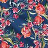 Verkauft 1 Yard Floral bedruckte Baumwollstoffe Kleid Kaftan Apparel 44'' breit
