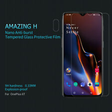 For OnePlus 6T Nillkin 9H 0.33mm Thin Hard Tempered Glass Phone Screen Protector