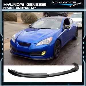 Fits 10-12 Hyundai Genesis Coupe Sport Unpainted Front Bumper Lip Spoiler PU