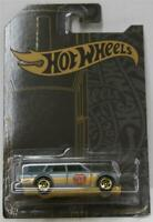 HOT WHEELS 2019 51st Anniversary Satin & Chrome 71 Datsun 510 Wagon