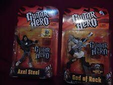 Guitar Hero Figures - God of Rock and Axel Steel