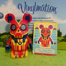 "Disney Vinylmation 3"" Park Set 1 Robots Atomic Bot with Card"