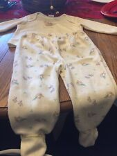 Pajama Set For Baby, Size 3-6 Months, Simply Basic Brand