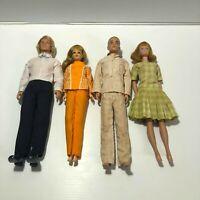 Vintage Lot of Barbie & Ken Dolls 1960's Mattel Inc. Vtg Set made in Japan