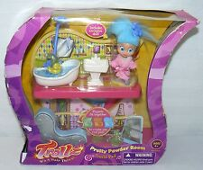 HASBRO 2004 TROLLZ PRETTY POWDER ROOM PLAYSET