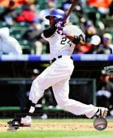 "Dexter Fowler Colorado Rockies MLB Action Photo (Size: 8"" x 10"")"