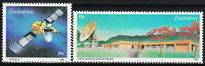 ZIMBABWE, SC 491-92, 1985 Space Satellite Communications issue. MNH.