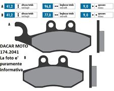 174.2041 PASTIGLIE FRENO SINTERED POLINI PIAGGIO  BEVERLY 300 ie 2010/2014