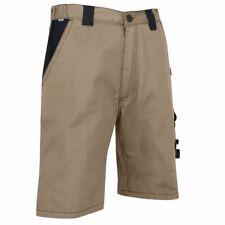 Mens Work Shorts LMA Quality Beige Black Comfy Size UK39 Brand New