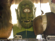 Star Wars Lifesize 1:1 Scale Bust of MYO Cantina Green Cantina Creature Pro Prop
