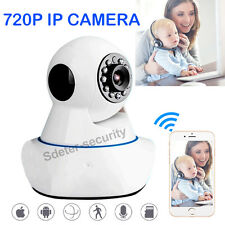 Wireless WIFI HD 720P IP PTZ Camera ONVIF 10M Night Vision Up To 64G SD Storage