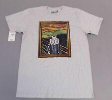Popkiller Unisex Artist Series Otasaku Scream Classic T Shirt SI4 Silver Medium