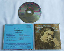 SCHUMANN String quartet Op.41, No.1-3 Joachim KOECKERT QUARTET Swiss CD CALIG'86