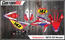 BETA RR Graphics Kit 2013-2015 with custom numbers etc 250/300/350/430/480