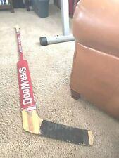 Stephane Beauregard Winnipeg Jets Signed Sherwood ROOKIE Game Used Stick