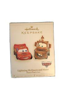 Hallmark Keepsake Ornament Lightning Mcqueen and Mater Disney Pixar's Cars 2006