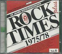 Audio Rock Times Plus Vol. 06 1975-1978 CD Various Audiophile