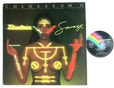 COLOSSEUM II - Electric Savage 1977 Jazz Prog Rock LP Album MCF 2800 VG+/VG