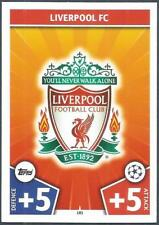 TOPPS MATCH CHAMPIONS LEAGUE 2017-18- #181-LIVERPOOL TEAM BADGE
