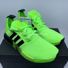 ADIDAS ORIGINALS NMD R1 BOOST SIGNAL GREEN BLACK FV3647