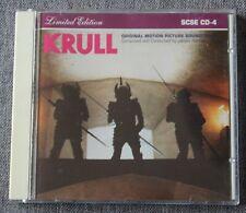 Krull - James Horner, BO du film / OST, CD limited edition