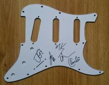 Rock band 'Blossoms', hand signed in person scratch plate by all 5 members.