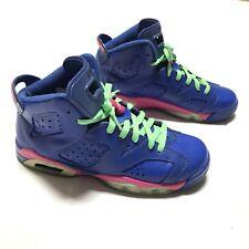 Nike Air Jordan Retro 6 VI Game Royal GG 543390-439 SZ 7Y
