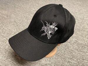 NHRA Hat Cap Drag Racing Series Nitro Fish Racing Black Flexfit XL-XXL