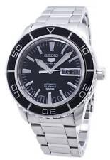 全新現貨SEIKO精工 MEN'S 5 Sports 黑色錶盤自動 手錶 SNZH55J1 HK*1