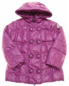 MONCLER Girls Padded Jacket 2-3 Years Purple Nylon NR08
