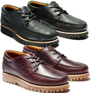 NEW Timberland Men's Casual Jackson's Landing Moc Toe Oxford Lace Up Boat Shoes