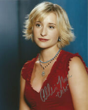 Allison Mack Signed 8x10 photo Autograph Coa Smallville Chloe welling durance